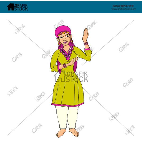 191 kashmiri dance