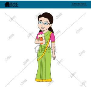 48 Indian teacher female