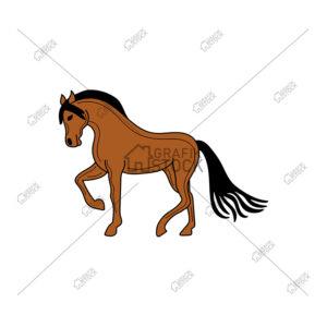 Horse riding Vectors