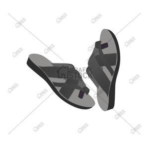 Footwear vectors